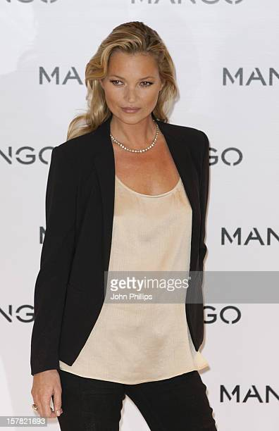 Mango Announce Kate Moss As The Face Of Their Spring/Summer 2012 Collction Mango Oxford Street London