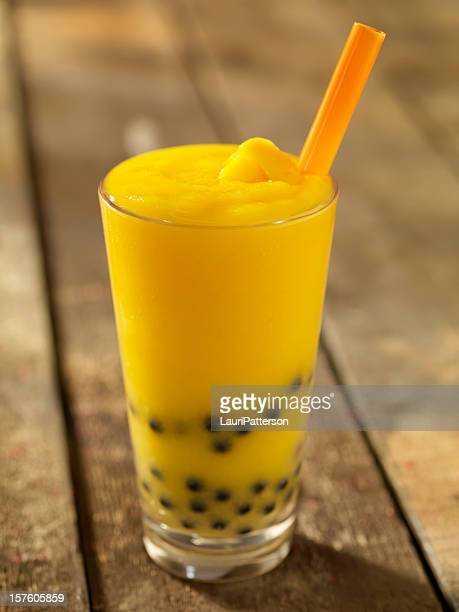 Mango Bubble Tea Smoothie