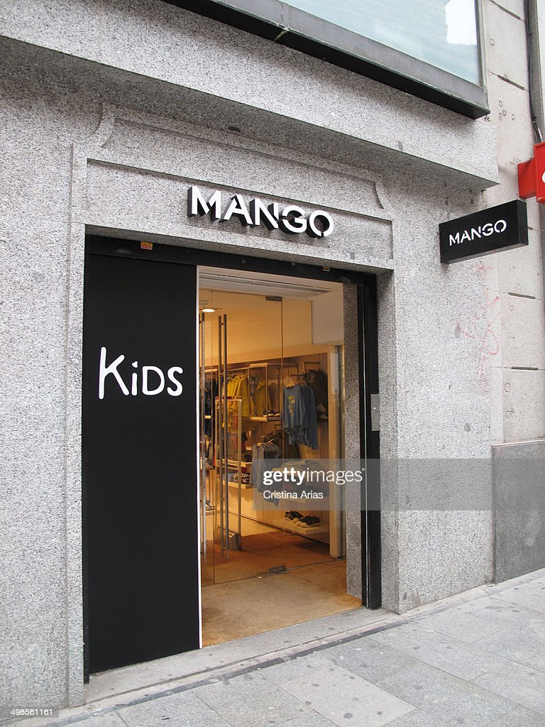 Incroyable Mango Kids Madrid #3: Mango Kids Store In Preciados Street Of Madrid, Spain, 20th February 2014.