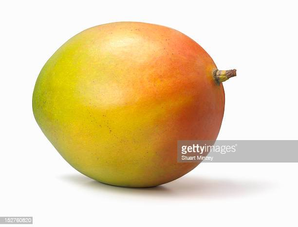 Mango on white background