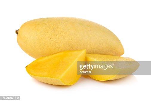mango on white background : Stock Photo