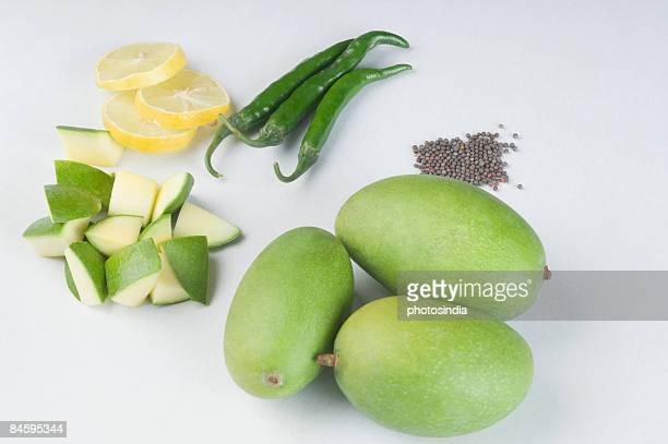 Mango pickle ingredients