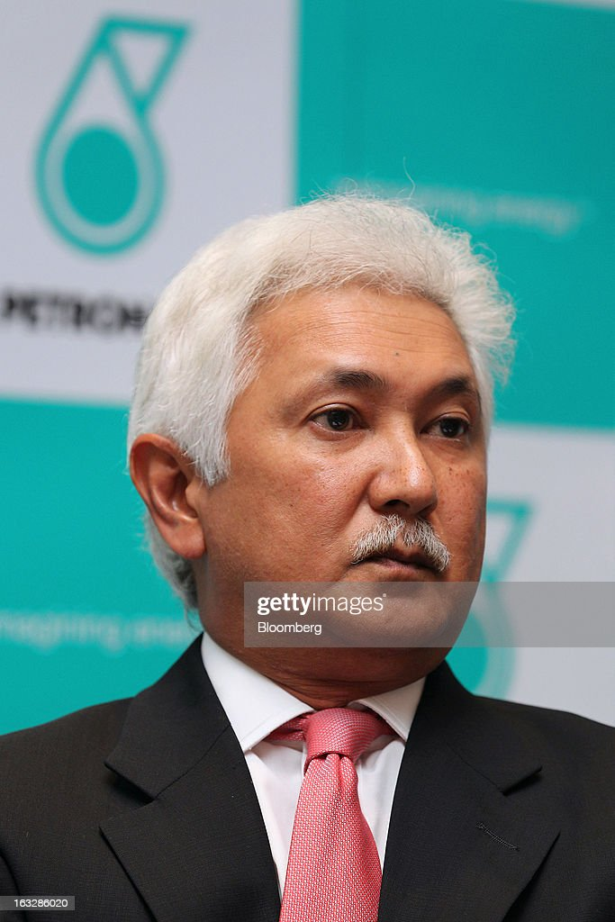 Manharlal 'George' Ratilal, executive vice president of finance at Petroliam Nasional Bhd. and chairman of MISC Bhd., attends a news conference in Kuala Lumpur, Malaysia, on Thursday, March 7, 2013. Petronas, Malaysia's state energy company, defended its 8.8 billion ringgit ($2.8 billion) buyout offer price for MISC Bhd. after criticism from minority shareholders that it's too low. Photographer: Goh Seng Chong/Bloomberg via Getty Images