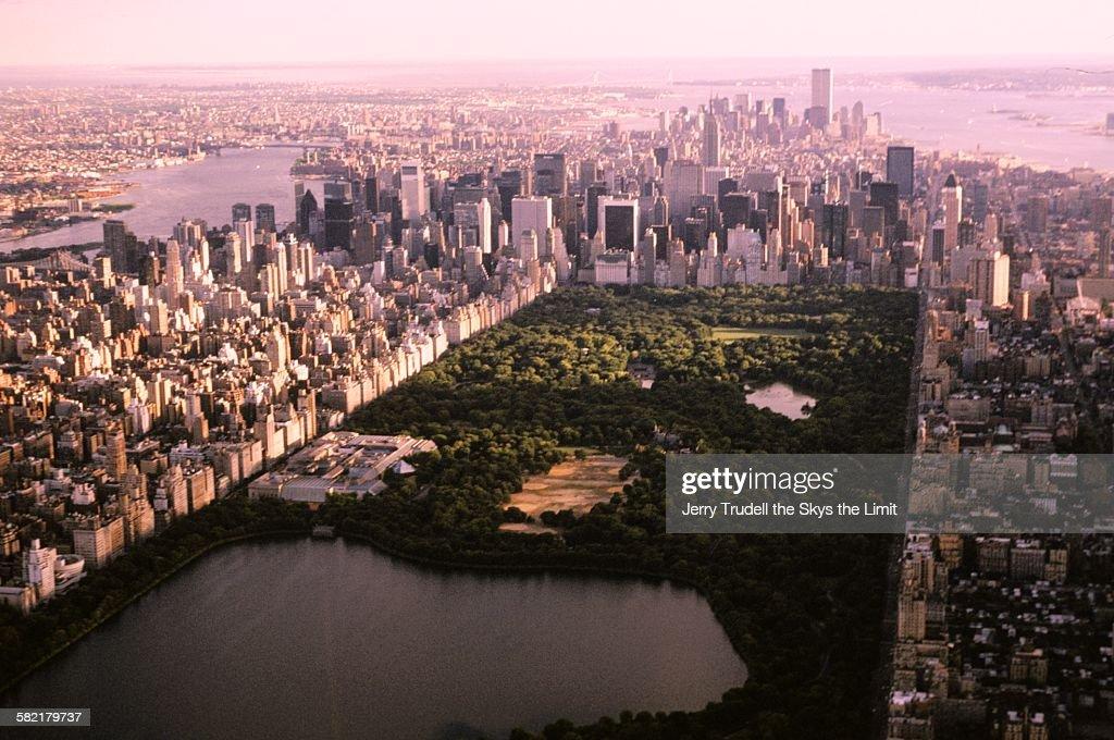 Manhattan and Central Park