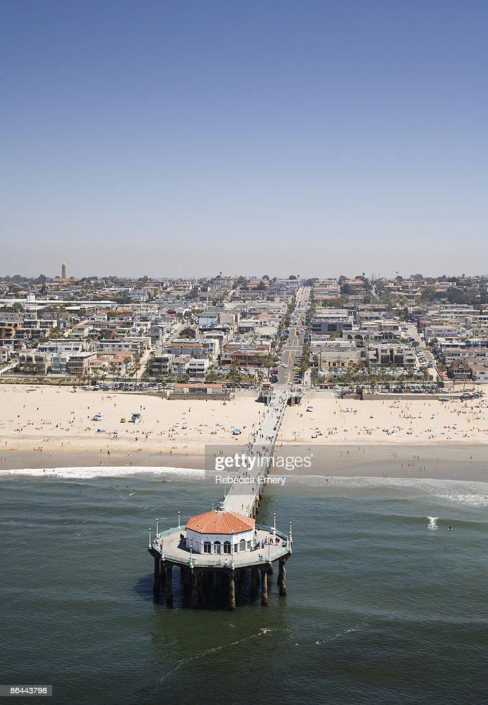 Manhattan Beach Pier, California, USA