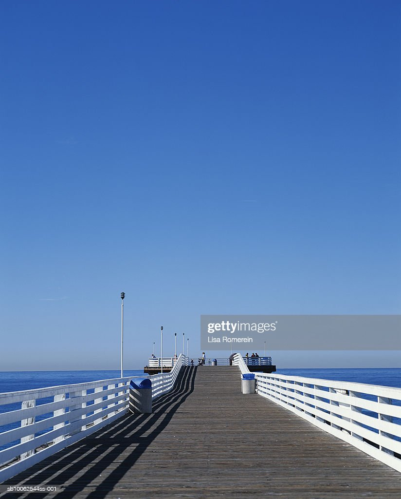 Manhattan Beach Pier, California, USA. : Stock Photo