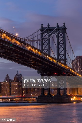 Manhattan Bridge : Stock Photo