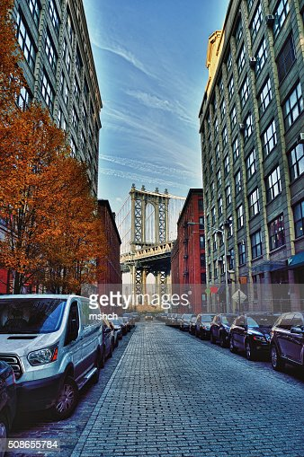 Manhattan Bridge. : Stock Photo