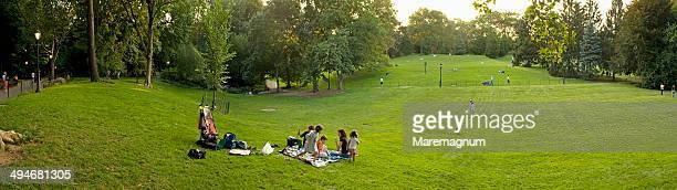 Manhattan, Central Park, pic nic