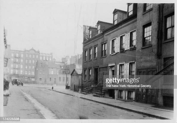 Commerce Street south side looking east toward 7th Avenue New York New York 1922