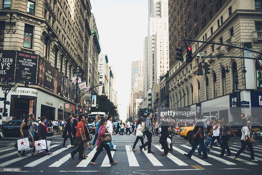 Manhattan crosswalk
