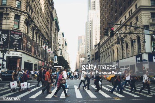 Manhattan crosswalk