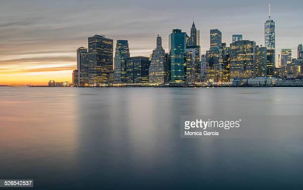 Manhattan from Brooklyn Bridge Park
