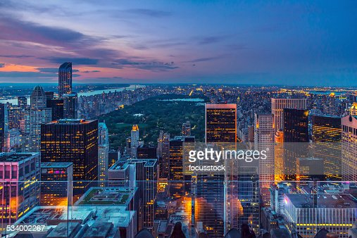 Manhattan from the top