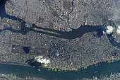March 26, 2005 - Manhattan Island and its easily recognizable Central Park.  Some of the other New York City boroughs (including parts of Queens and Brooklyn) are also shown, as are two small sections