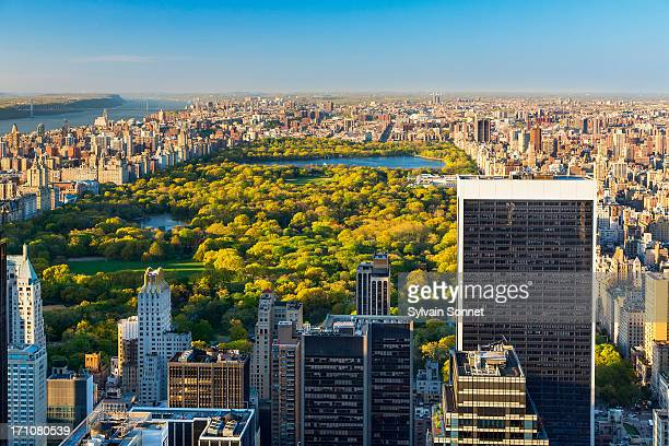 Manhattan New York City Skyline Central Park View