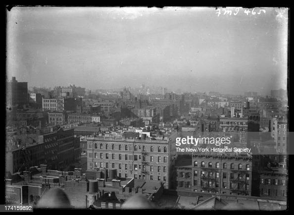 Manhattan panorama 21st Street Sixth Avenue and Seventh Avenue looking east New York New York late 19th or early 20th century