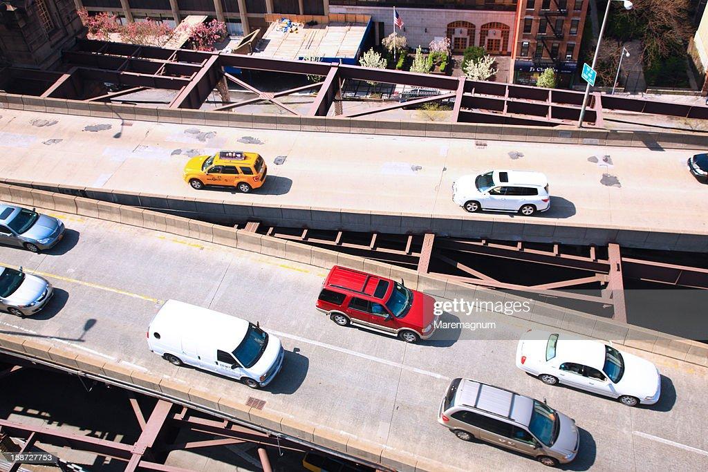 Manhattan, Queensboro Bridge : Stock Photo