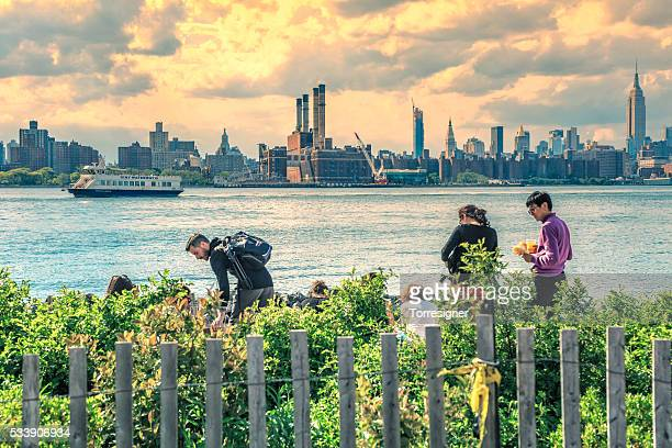 Manhattan Seen From Brooklyn