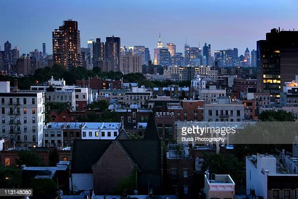 Manhattan Skyline from Harlem
