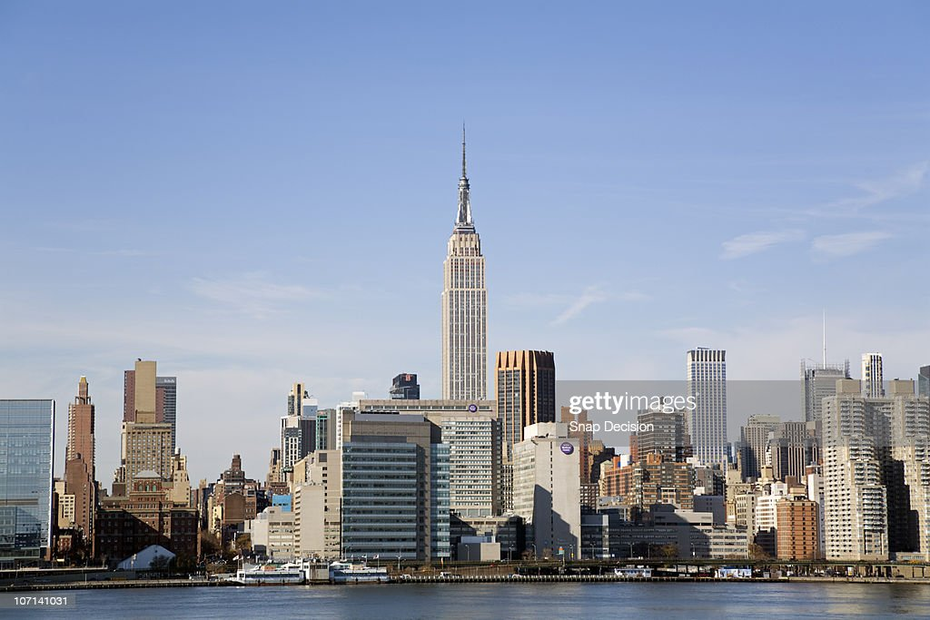 Manhattan Skyline  : Stock Photo
