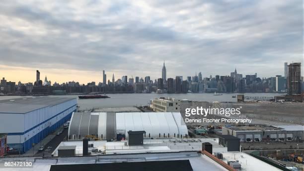 Manhattan skyline view from Williamsburg