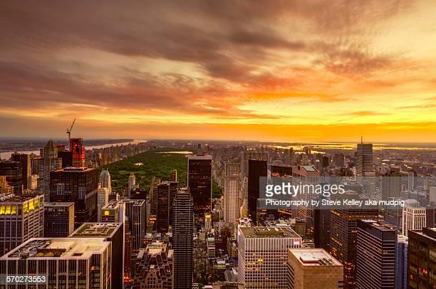 A Manhattan Sunrise