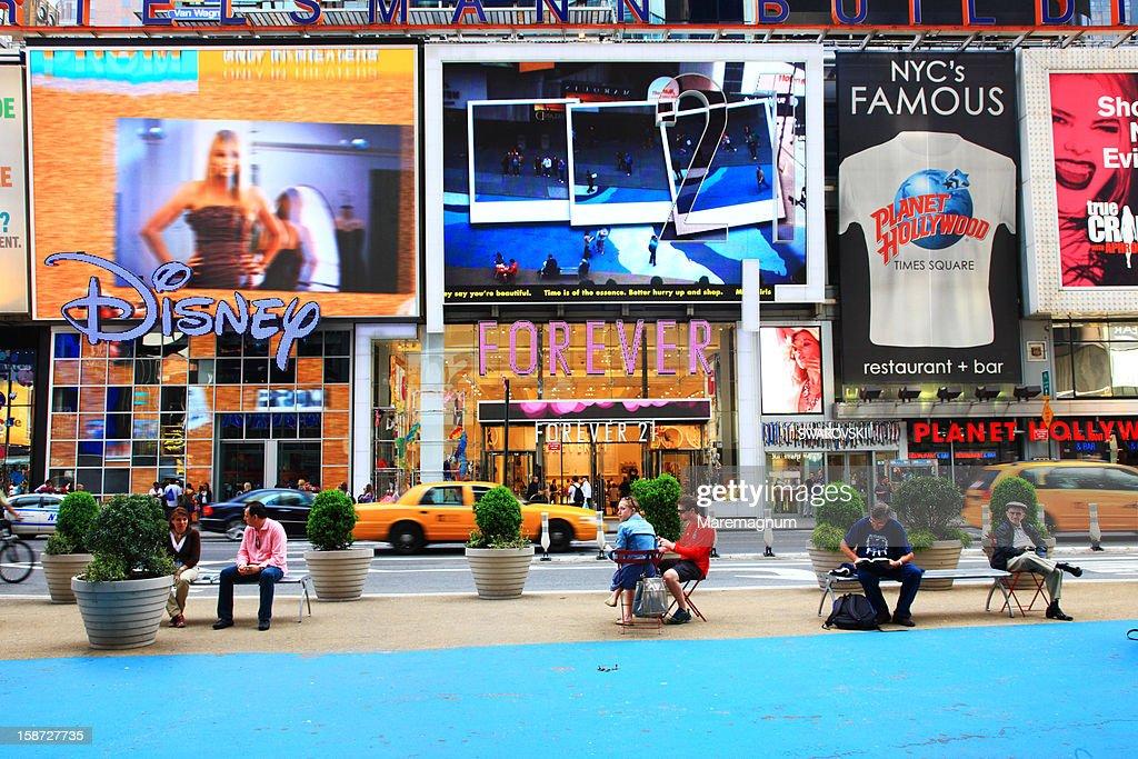 Manhattan, Times square : Stock Photo