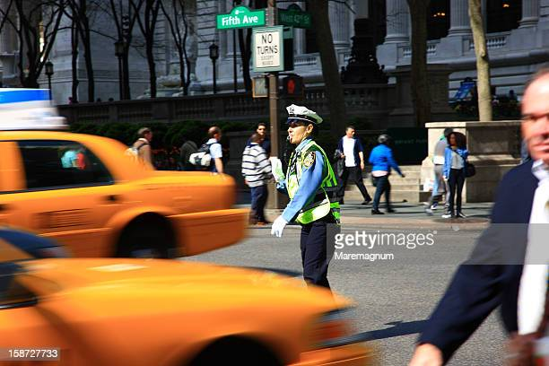 Manhattan, traffic in 5th avenue