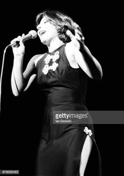 Manhattan Transfer performing on stage at Shepherds Bush Empire London 07 February 1977