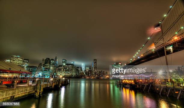Manhattan under fog