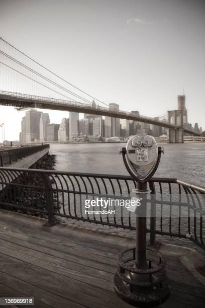 Manhattan vintage view