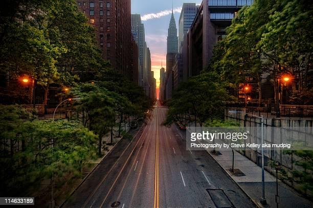 Manhattanhenge, New York City