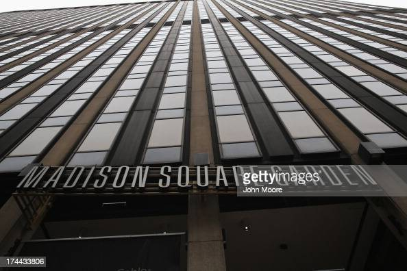 Manhattan's Madison Square Garden stands over Pennsylvania Station on July 25 2013 in New York City The New York City Council 471 to only extend the...