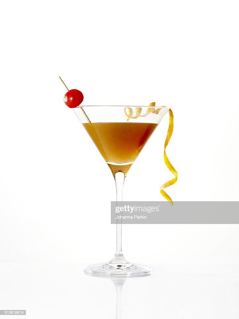 Manhatten Martini cocktail