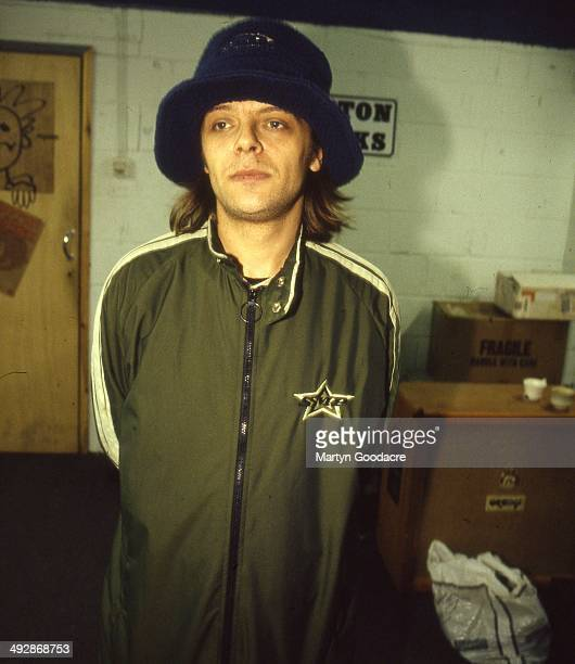 Mani of the Stone Roses during a rehearsal in Manchester United Kingdom 1994
