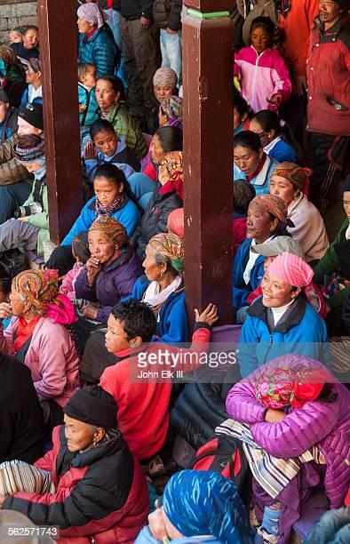 Mani Rimdu celebration pilgrims