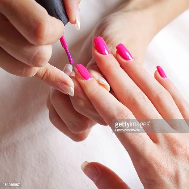 Trattamento di Manicure