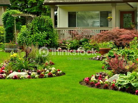 Hermosos jard n foto de stock thinkstock for Fotos de jardines