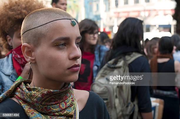 Manifestação de Gay mulheres