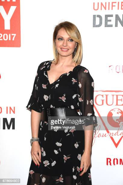 Manila Nazzaro attends the Guess Foundation Denim Day 2017 at Palazzo Barberini on May 4 2017 in Rome Italy