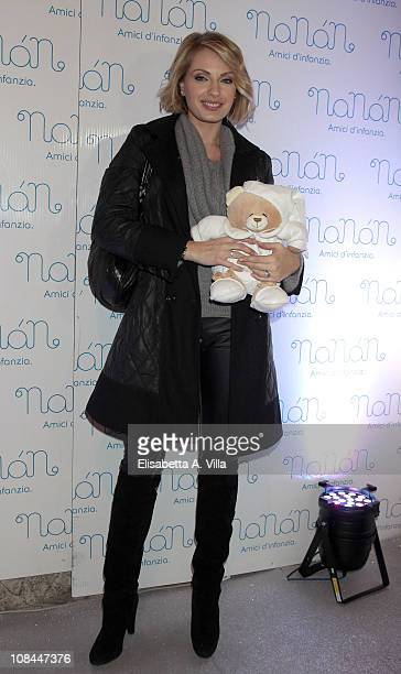 Manila Nazzaro attends the Nanan Flagship Store Opening on January 27 2011 in Rome Italy