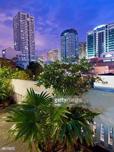 Skyline di Manila