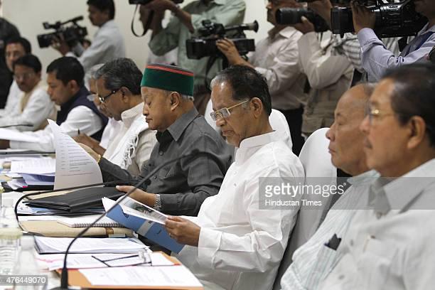 Manipur Chief Minister Okram Ibobi Singh Assam Chief Minister Tarun Gogoi Himachal Pradesh Chief Minister Virbhadra Singh Karnataka Chief Minister...