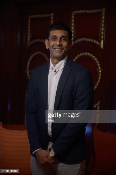 Manish A Shah Head of Digital Bank Nainital Bank photographed during MINT Fintech Summit 2017 in Mumbai
