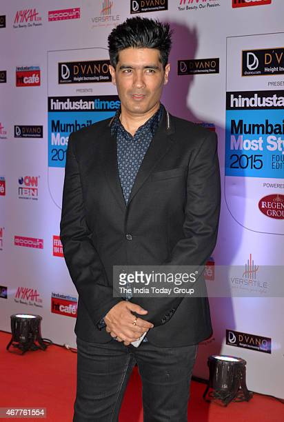 Manish Malhotra at HT Mumbais most stylish awards 2015 in Mumbai