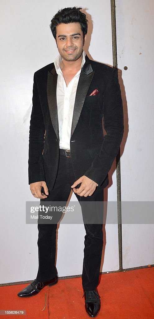 Manish Paul during Indian Television Academy Awards 2012 (ITA Awards), held in Mumbai on November 4, 2012.