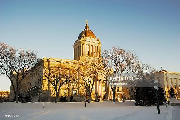 Manitoba Legislature Sunset