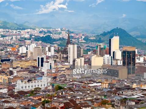 Manizales City View, Colombia