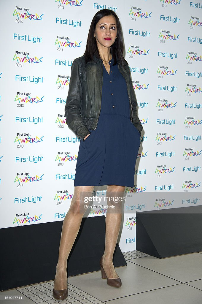 Manjinder Virk attends the First Light Award at Odeon Leicester Square on March 19, 2013 in London, England.